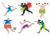 Fényképek Vicces sport adatok