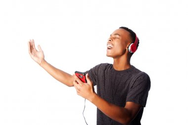 Singing along while listening to music