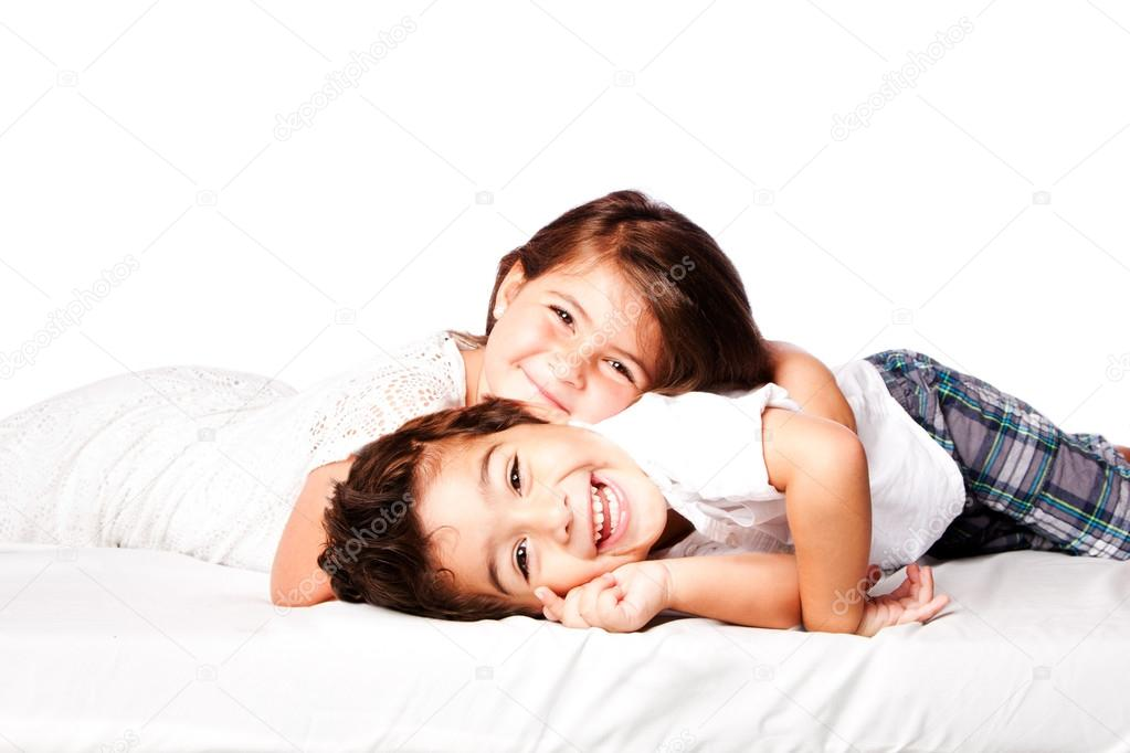 Happy Siblings brother sister