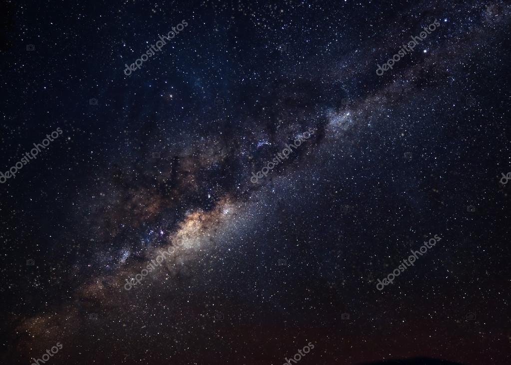 The Milky Way is our galaxy. Elements of this image furnished by NASA