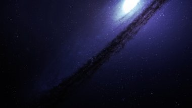 High resolution Incredibly beautiful spiral galaxy somewhere in deep space. Elements of this image furnished by NASA.
