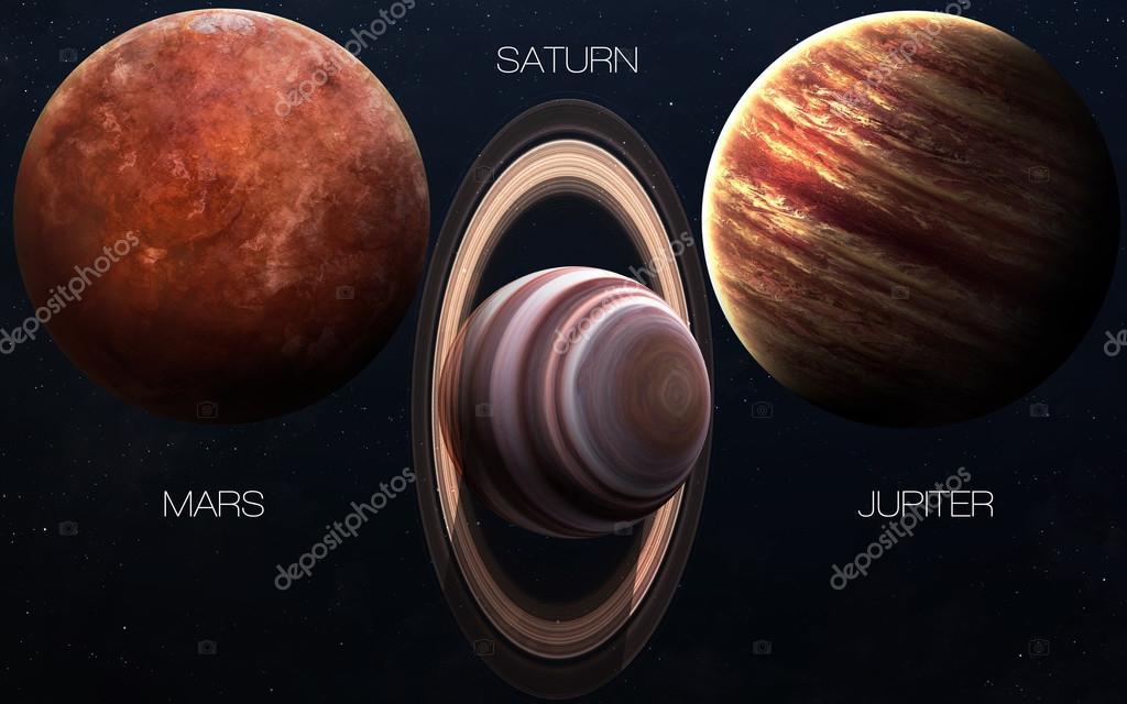 Immagini ad alta risoluzione presenta pianeti del sistema for Piani di coperta ad alta elevazione