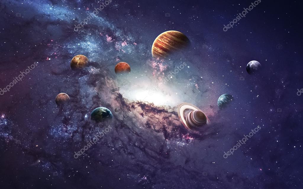 solar system planets - HD
