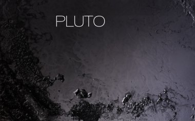 Pluto - High resolution images presents planets of the solar system. This image elements furnished by NASA.