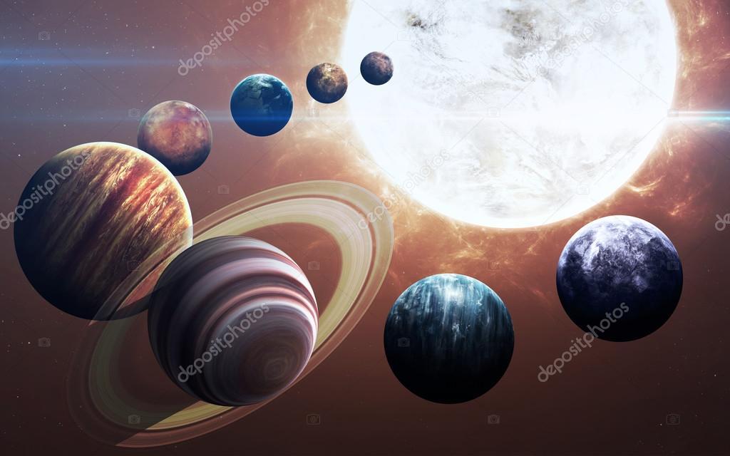 the nine planets - HD5200×3250