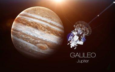 Jupiter - Galileo spacecraft. This image elements furnished by NASA.