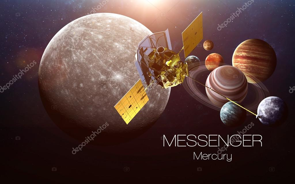 messenger spacecraft to mercury 2009 picture - 1024×640