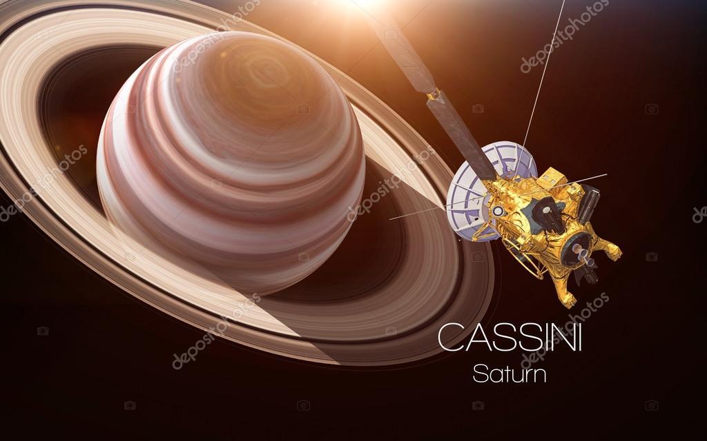 saturn cassini spacecraft - HD5200×3250