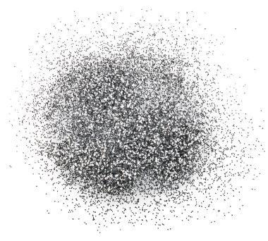 Silver glitter sparkle