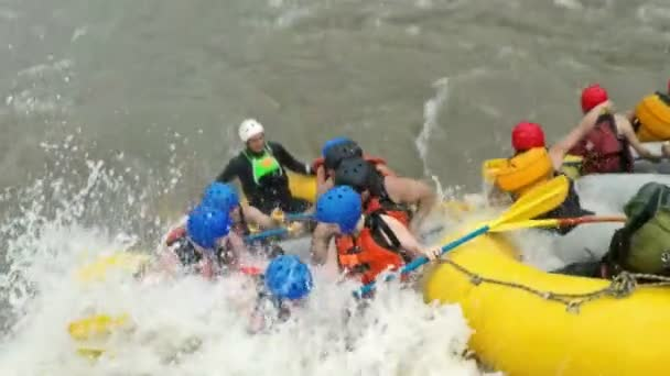 Rafting Boat Accident On Pastaza River