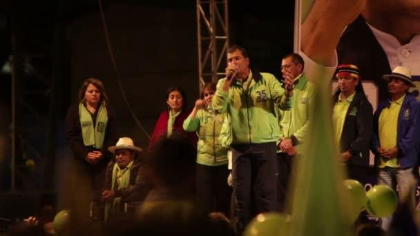 Rafael Correa Rede Teil 7