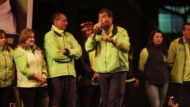 Rafael Correa Rede Teil 10