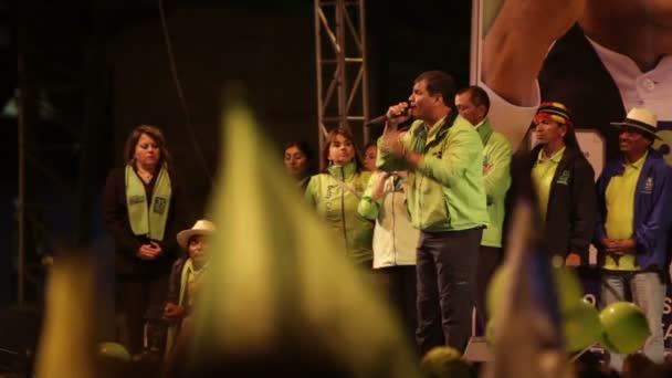 Rafael Correa Rede Teil 8