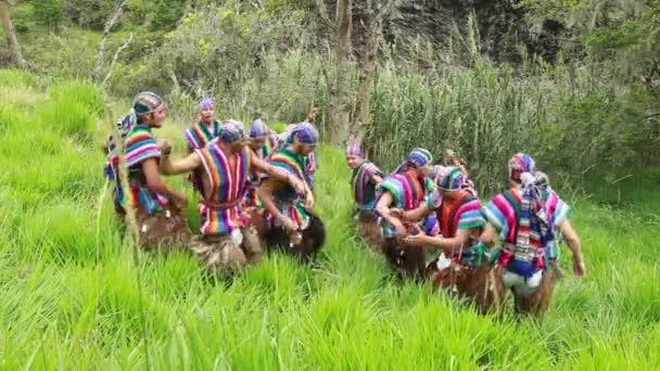 Ekvádorské tradiční tanec