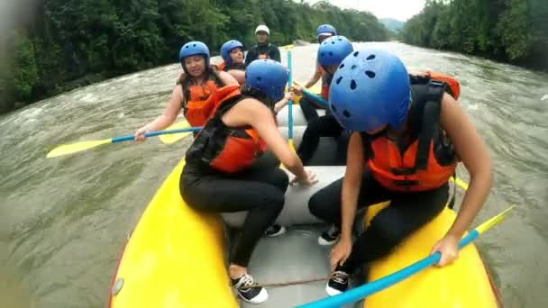 White Water Rafting Switching Places