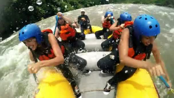 River Rafting With Team Of Girls