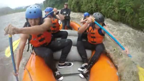 White Water Rafting Team