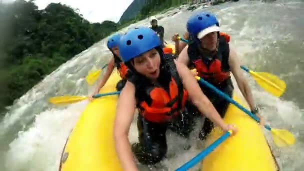 Very Rough White Water Rafting