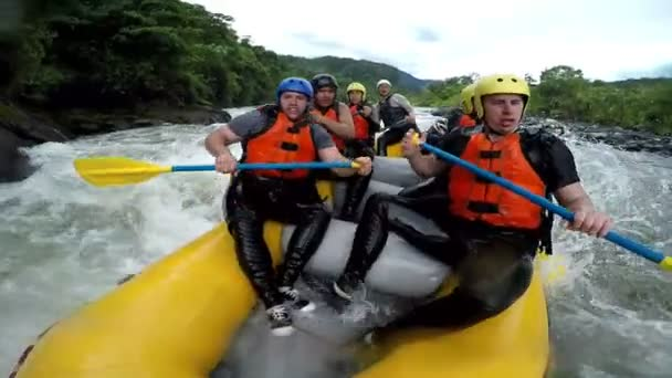 White Water Rafting Funny Moment