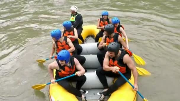 Spinning White Water Rafting Boat
