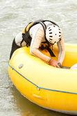 Fotografie Inflatable Boat Repair