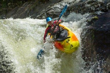Kayak Waterfall Jump