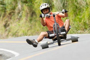 Extreme Sport Trike Drifting