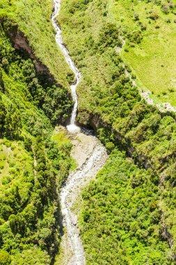 Agoyan Waterfall Vertical Aerial