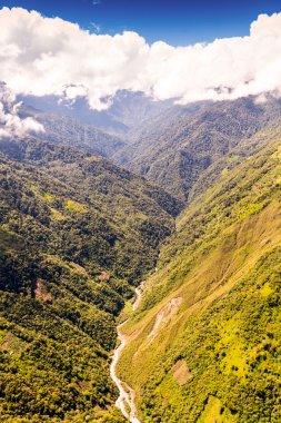 Rio Blanco Valley Aerial Shot