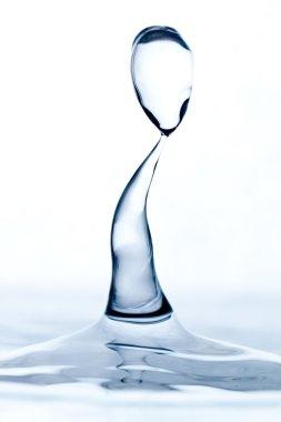 Aqua Sculpture Droplets Collision
