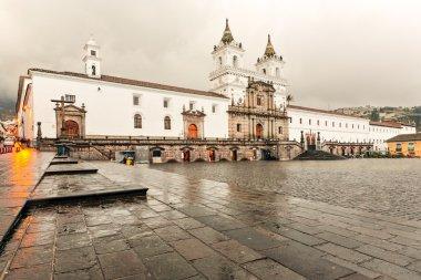 San Francisco Church In Quito