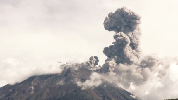 Tungurahua Volcano Eruption 2015