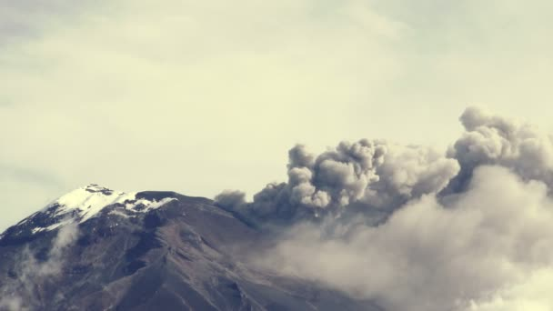 Tungurahua Volcano Crater 2015 Eruption