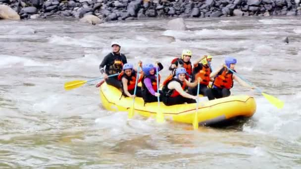 Team Building On Extreme Whitewater Rafting Trip