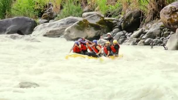 Slow Motion Extreme Whitewater River Rafting