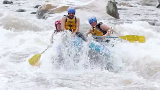 Extreme Whitewater River Rafting Sports