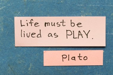 live as play