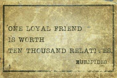 loyal friend print