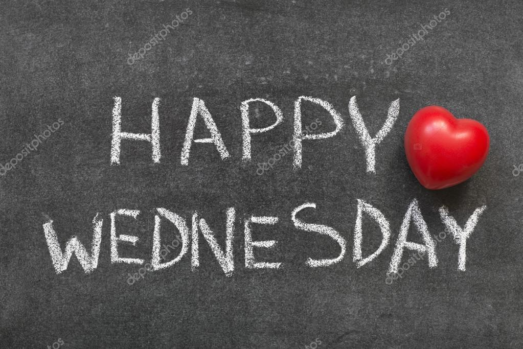 Happy Wednesday Stock Photo Yurizap 80346680