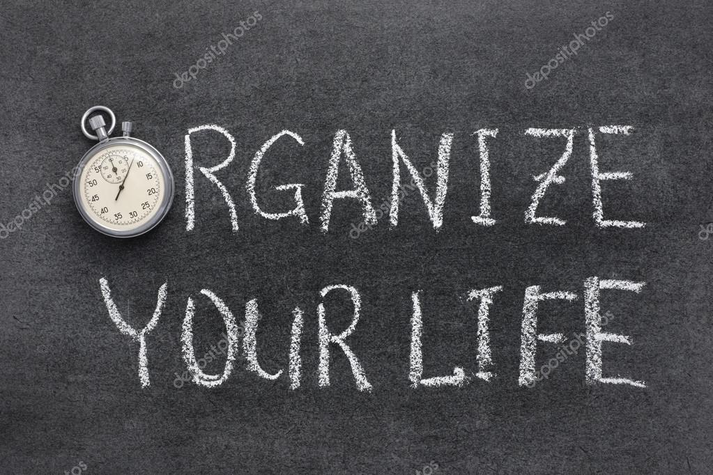 Organizar Tu Vida Fotos De Stock Yurizap 80350524