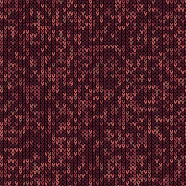 knitted marsala pattern