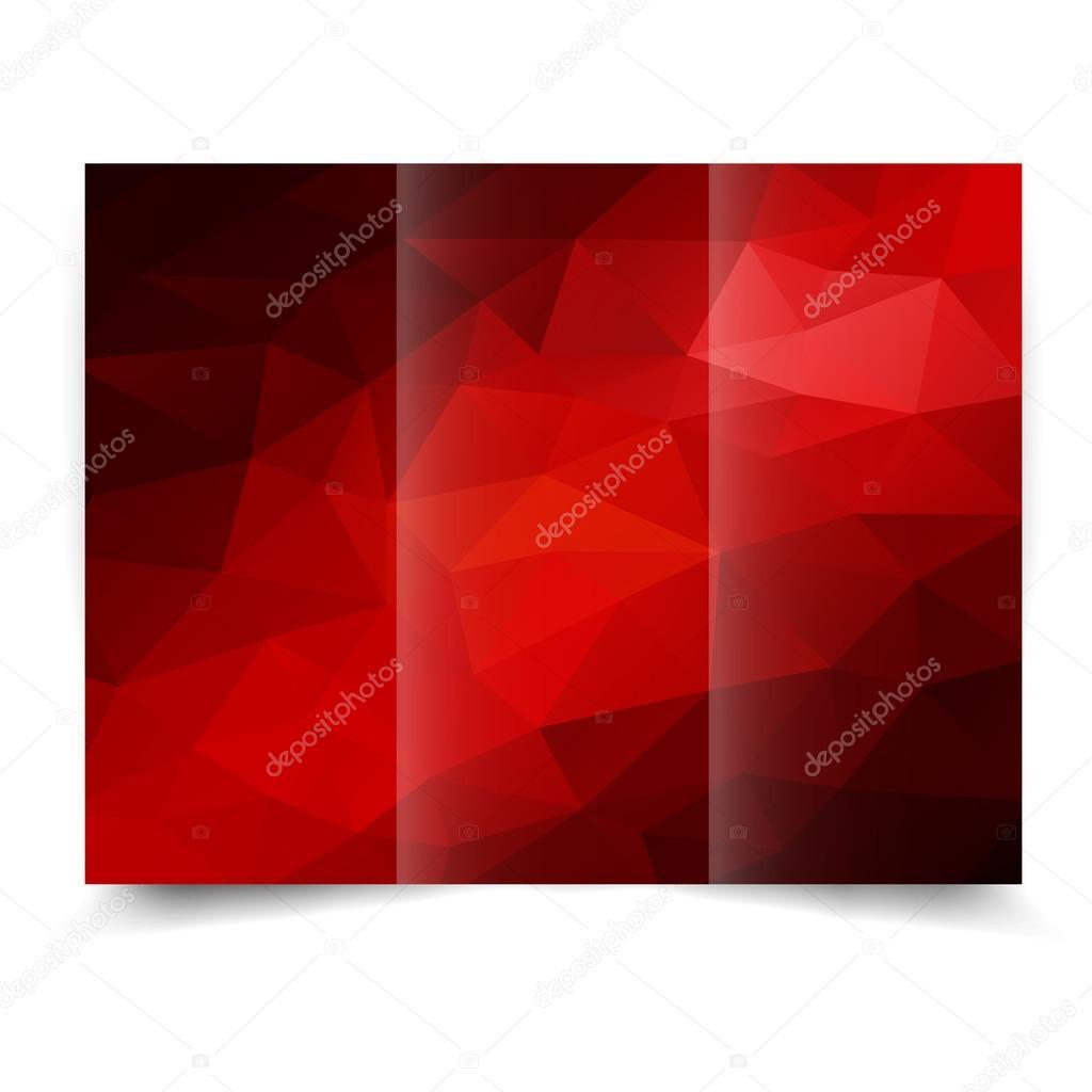 fondos para tripticos rojos