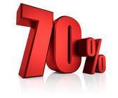 Rot 70 Prozent