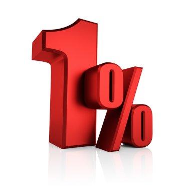 Red 1 Percent
