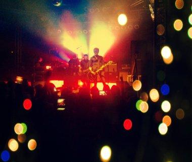 Concert shot done with instagram filter