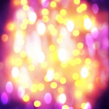 Pretty bokeh for holiday