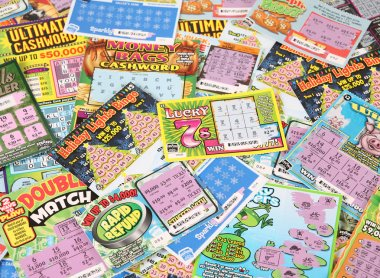 Lottery scratch tickets