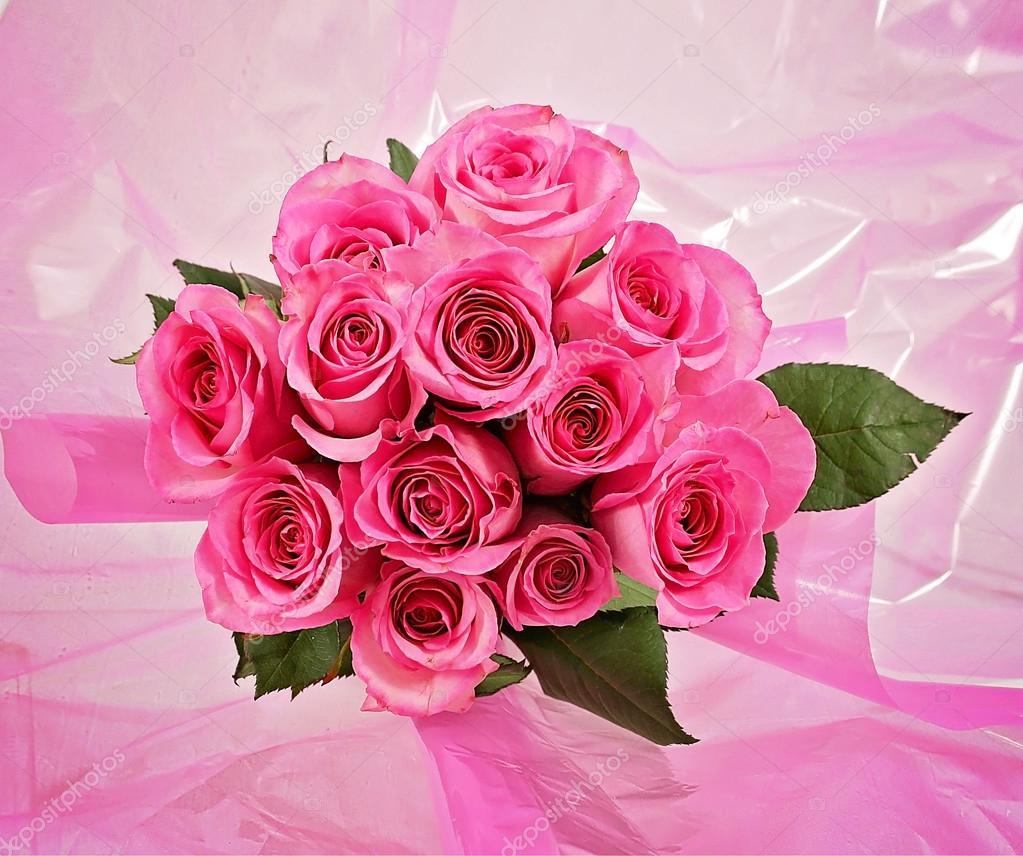 Mazzo di rose rosa foto stock graphicphoto 53627079 for Foto di rose bellissime