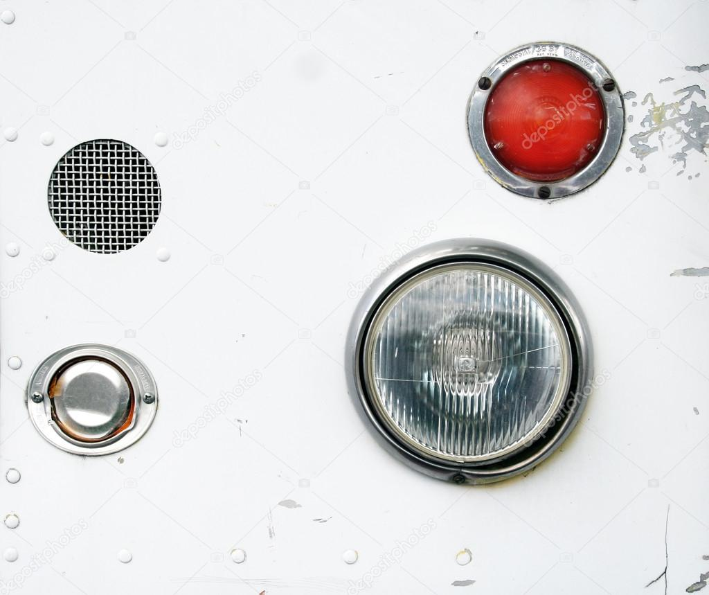 Headlights from a taco truck — Stock Photo © graphicphoto #53677009 for Truck Light Texture  75tgx