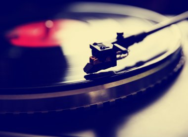 Old fashioned turntable